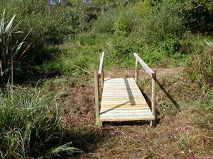 foot bridge after