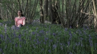 Woman in Bluebells