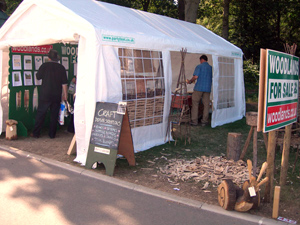 Our stand at the Yorkshire Show