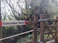 Gateway to Cutcombe Wood
