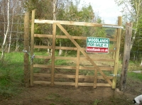 A deer proof gate.