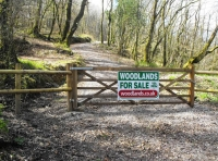 Main woodland entrance