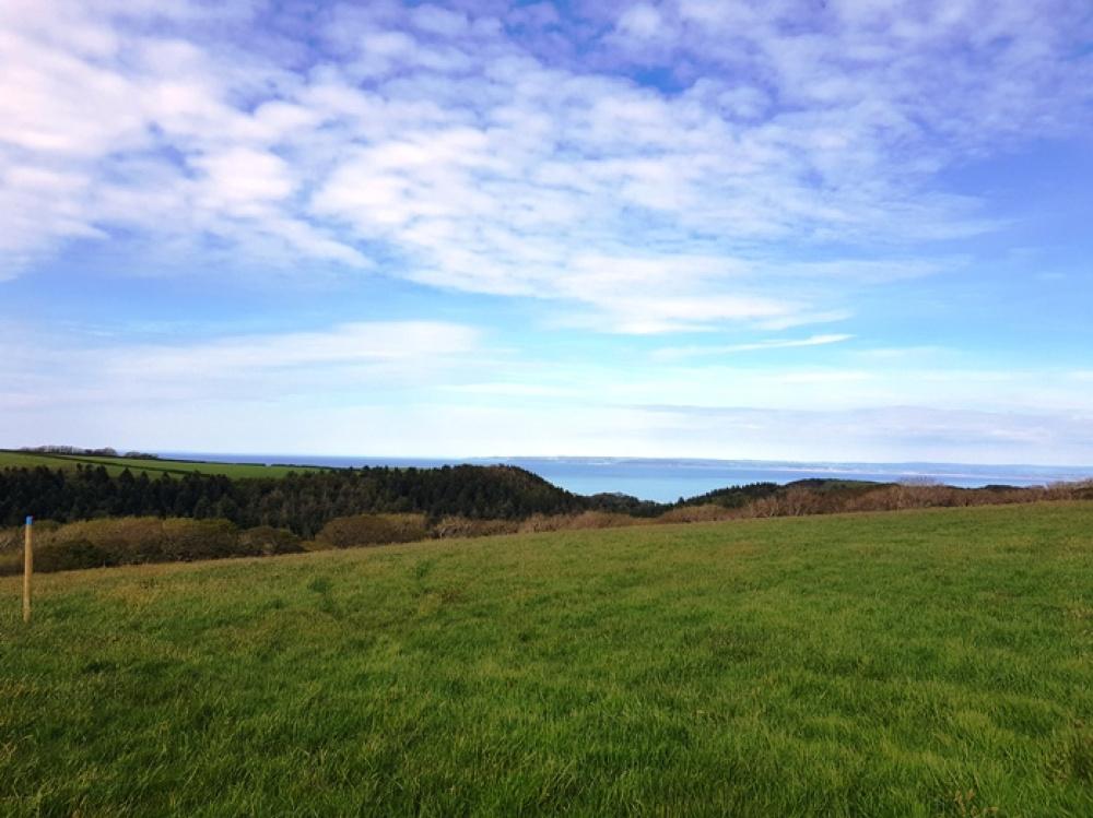 Fine views over Bideford bay