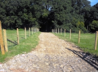 Vehicular access track