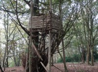 Old wildlife tower.