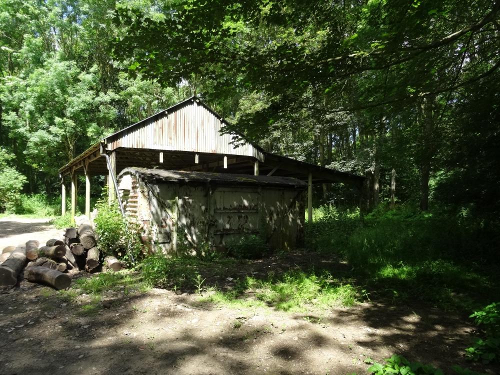 Side of pole barn