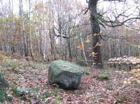 Mysterious boulder