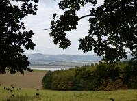 View to the river Tay