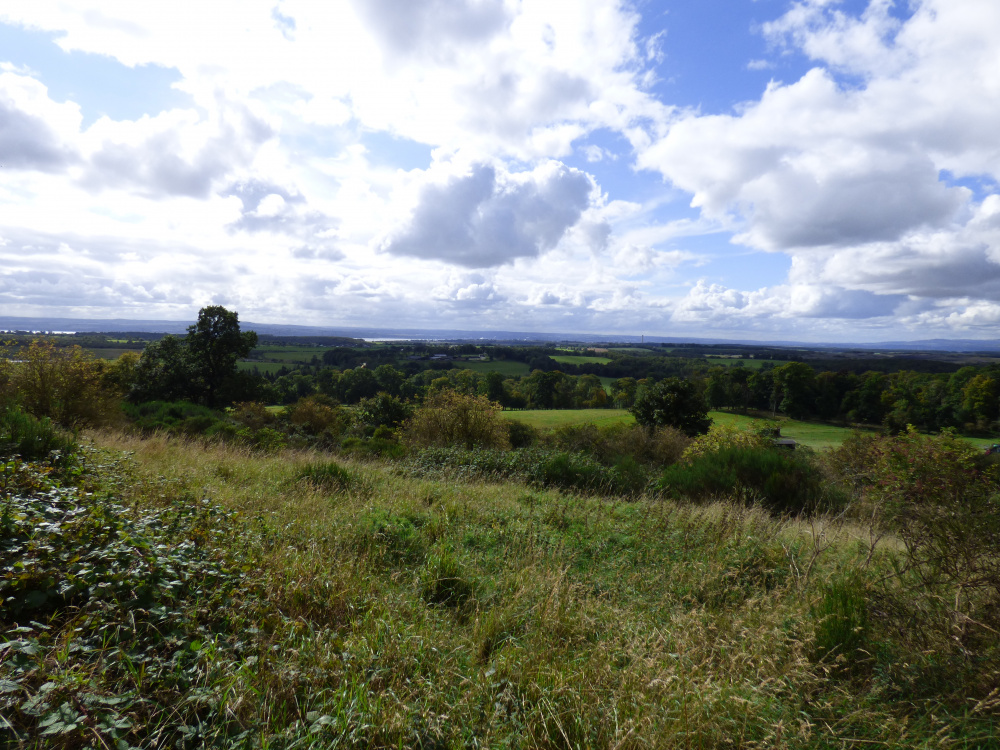 View from the top of the brae