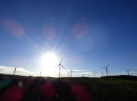 View past renewable energy in the west