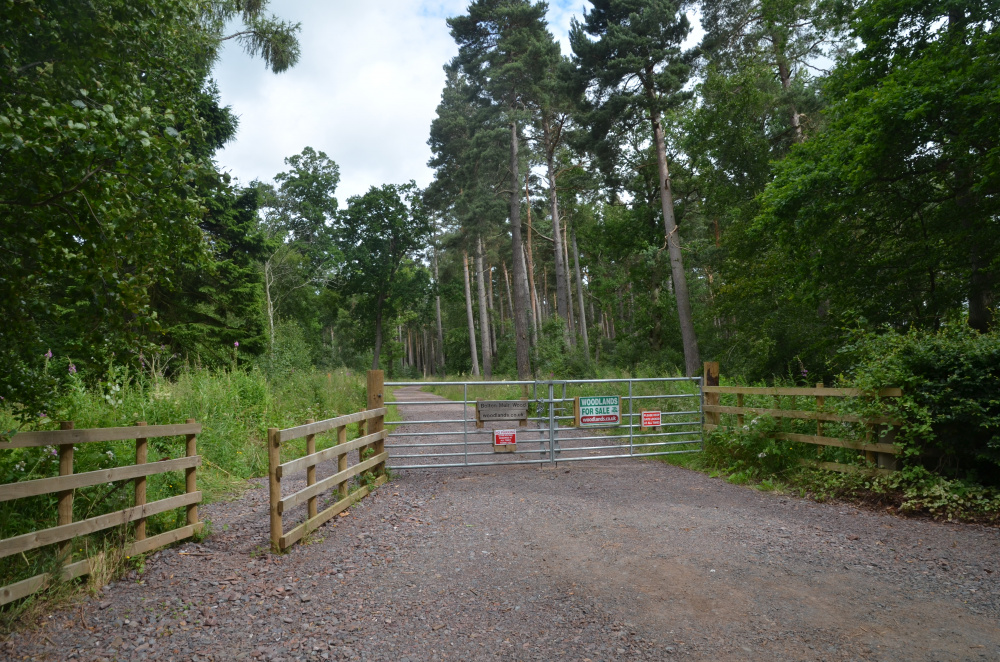 Main entrance to Bolton Muir