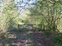 Gate into Baddegai Meadow
