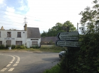 After Llangynog, turn right at The Wern Inn