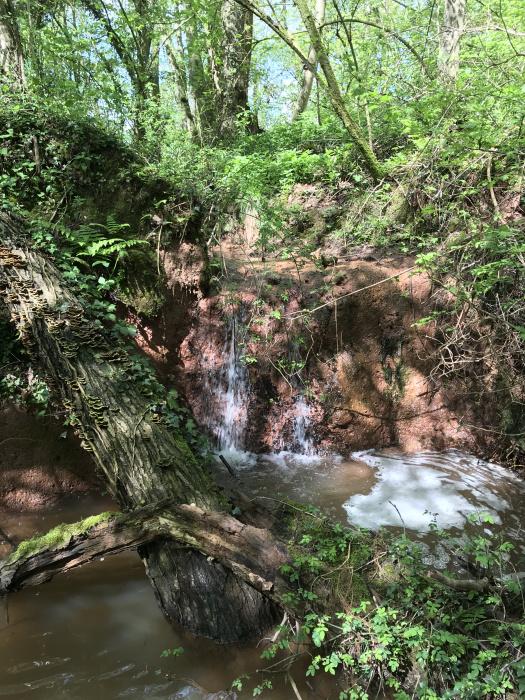 Mini waterfall