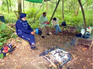 Social Forestry in Glede Wood.
