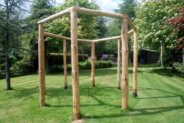 5. Completed henge