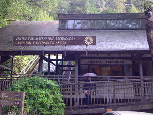 The Centre for Alternative Technology - Practical woodland courses