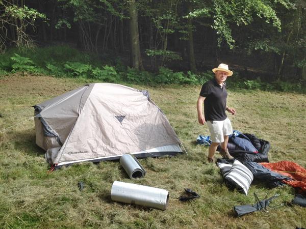 Camp preparation