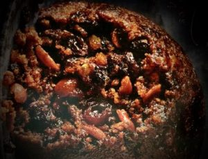 Where's your Christmas pudding from ?