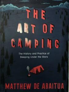 """The art of camping"" book by Matthew de Abaitua"