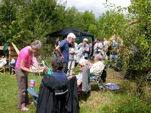 Open day at Butterbeare Wood