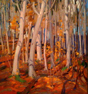 Painting woodlands and wildlife - landscape painting pioneers