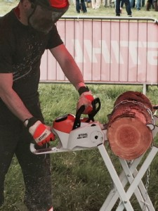 Cordless Electric chainsaws are now cutting the mustard