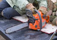 Chainsaw Maintenance Pt 2 - Tensioning the Chain