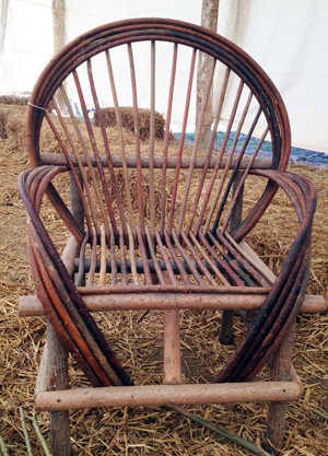 Incroyable Making Willow Chairs At Wilderness Wood