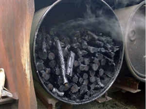 Biochar at the Centre for Alternative Technology: business opportunity for small woodland owners or climate change solution