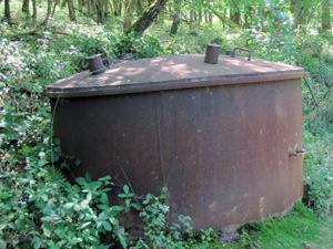 charcoal-silo