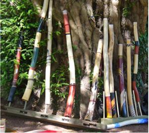 Noises of a Didgeridoo Maker