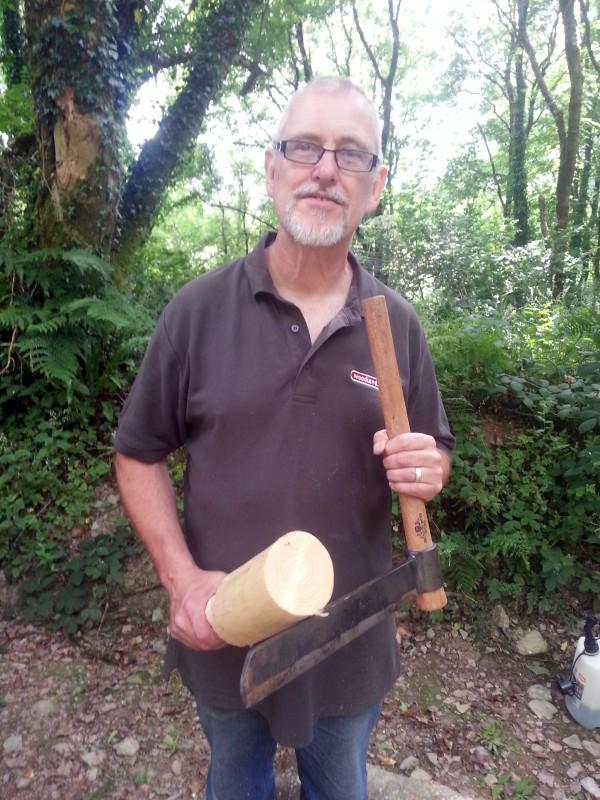 Froe Mallet Making Woodlands Co Uk