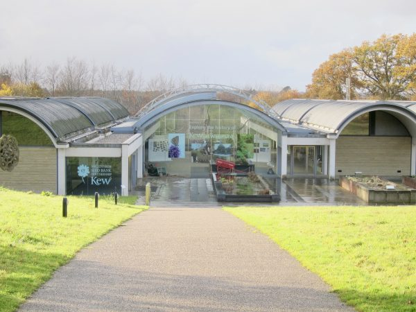 Entrance to the Millennium Seed Bank