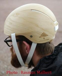 helmet outdoors