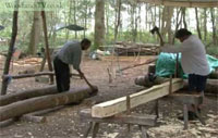 Early Medieval Timberwork and Anglo-Saxon Pit Dwellings