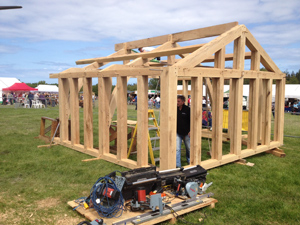 Oak Frame Buildings - made in Wales