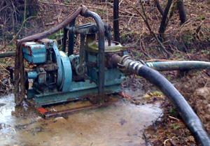 pumping-water