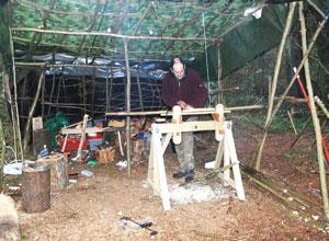 Woodland Shelter Build.