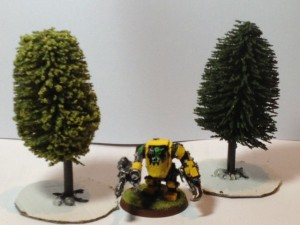 Making model trees and woodlands in tabletop battles  – Woodlands co uk
