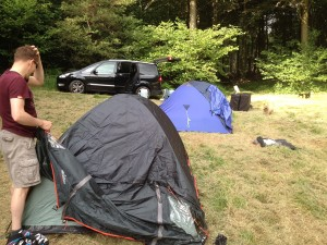Why camping in your own wood is special