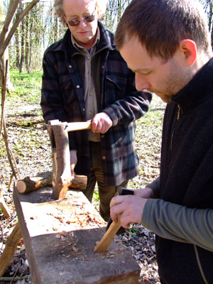 Whittling: wood carving keeps the mind sharp