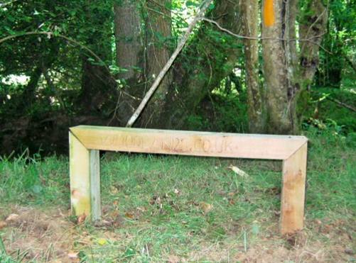 woodlands bench